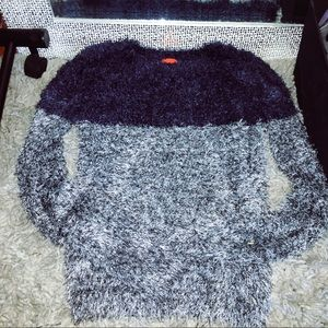 Saks Fifth Avenue Fuzzy Pullover Sweater